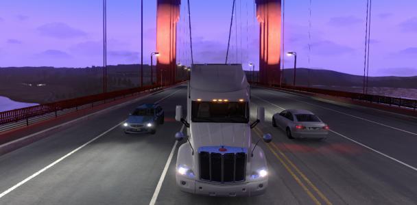 American truck simulator Trucks model-2