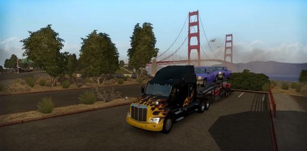 American truck simulator Trucks model-5