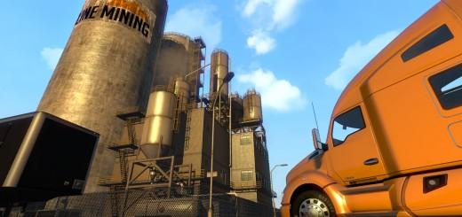 1.14 Update news and  Across the desert in American Truck Simulator-2