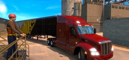 American Truck Simulator Trailers Length-3