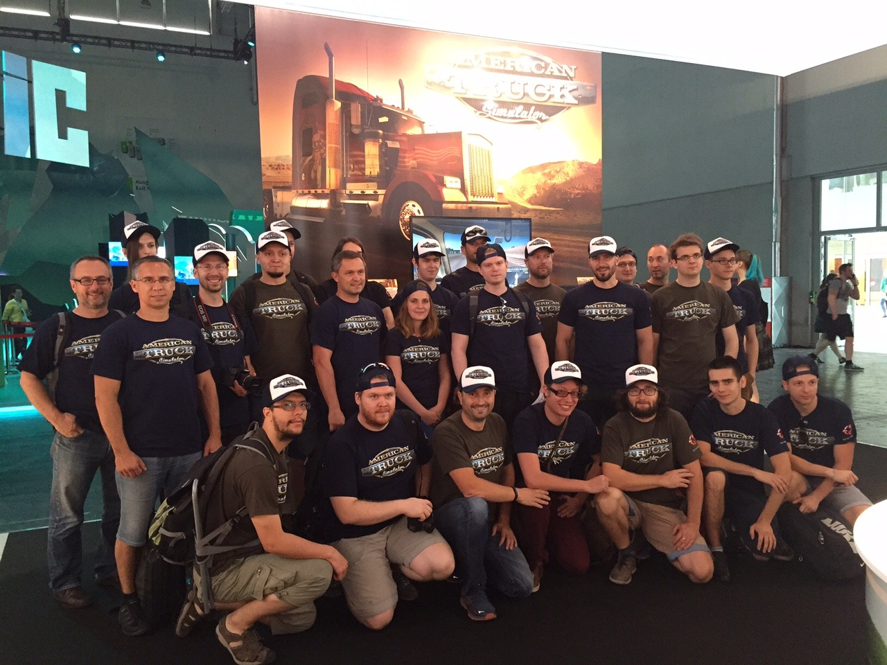 American Truck Simulator on Gamescom 2015-4