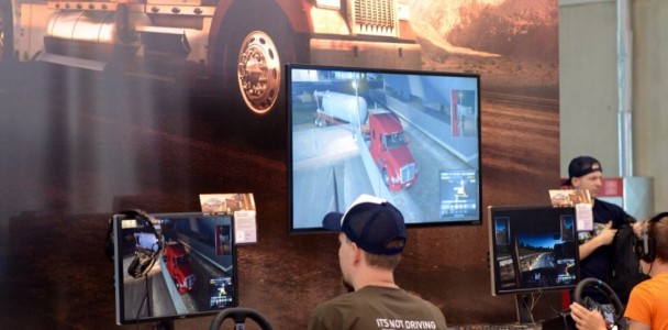 American Truck Simulator on Gamescom 2015-6
