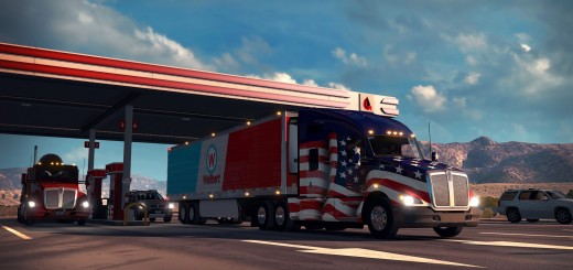 National Truck Driver Appreciation Week spend with ATS-1