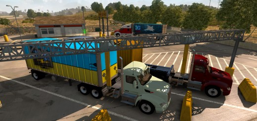 New feature in American Truck Simulator will be Weigh Stations-3