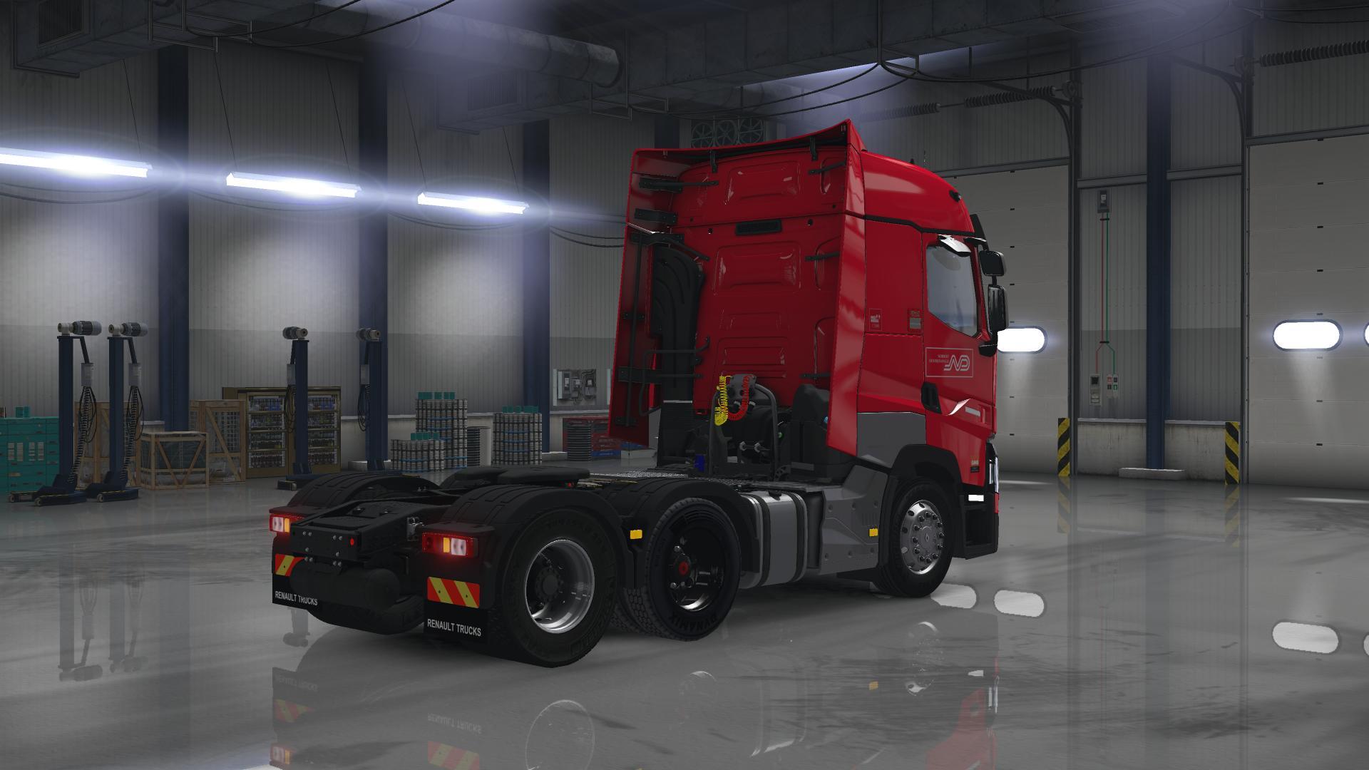 RENAULT T 0.9.1.3 - American Truck Simulator mods, ATS mods