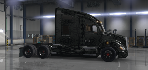 Skins american truck simulator mods ats mods for Howell s motor freight