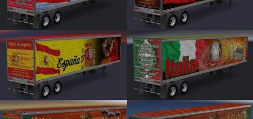 Trailers American Truck Simulator mods, ATS mods