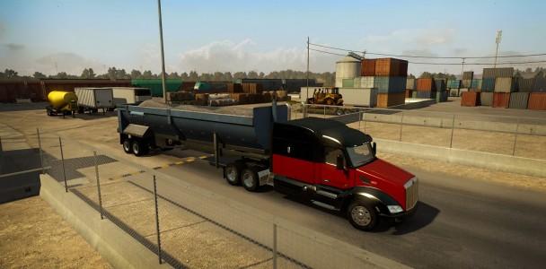 American truck simulator Trucks model-4
