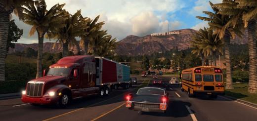 American Truck Simulator - Alpha build 0.1.60 gameplay