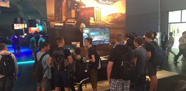 American Truck Simulator on Gamescom 2015-1