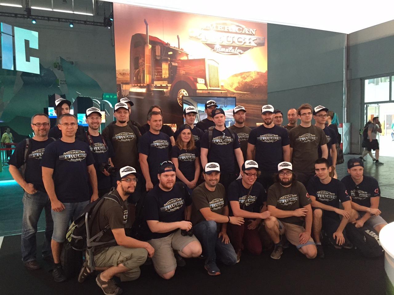 American Truck Simulator on Gamescom 2015-4