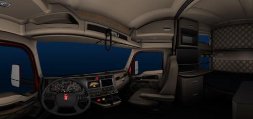 Kenworth T680 Truck interior-3