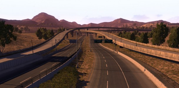 More images from the American Truck Simulator and VIDEO-3